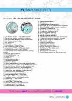 Botany Microscope Slides PDF